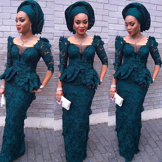 And beautiful aso ebi lace styles 2016 debonke house of fashion