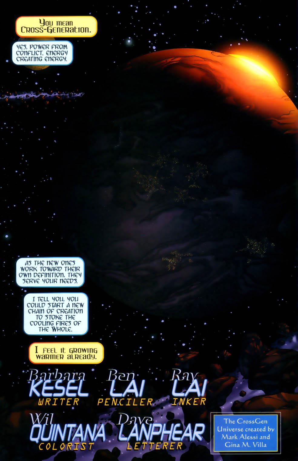Read online Sigil (2000) comic -  Issue #1 - 5