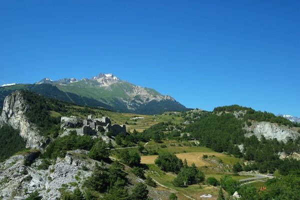 savoie maurienne vanoise aussois fort barrière esseillon sentier bâtisseurs panorama cinq