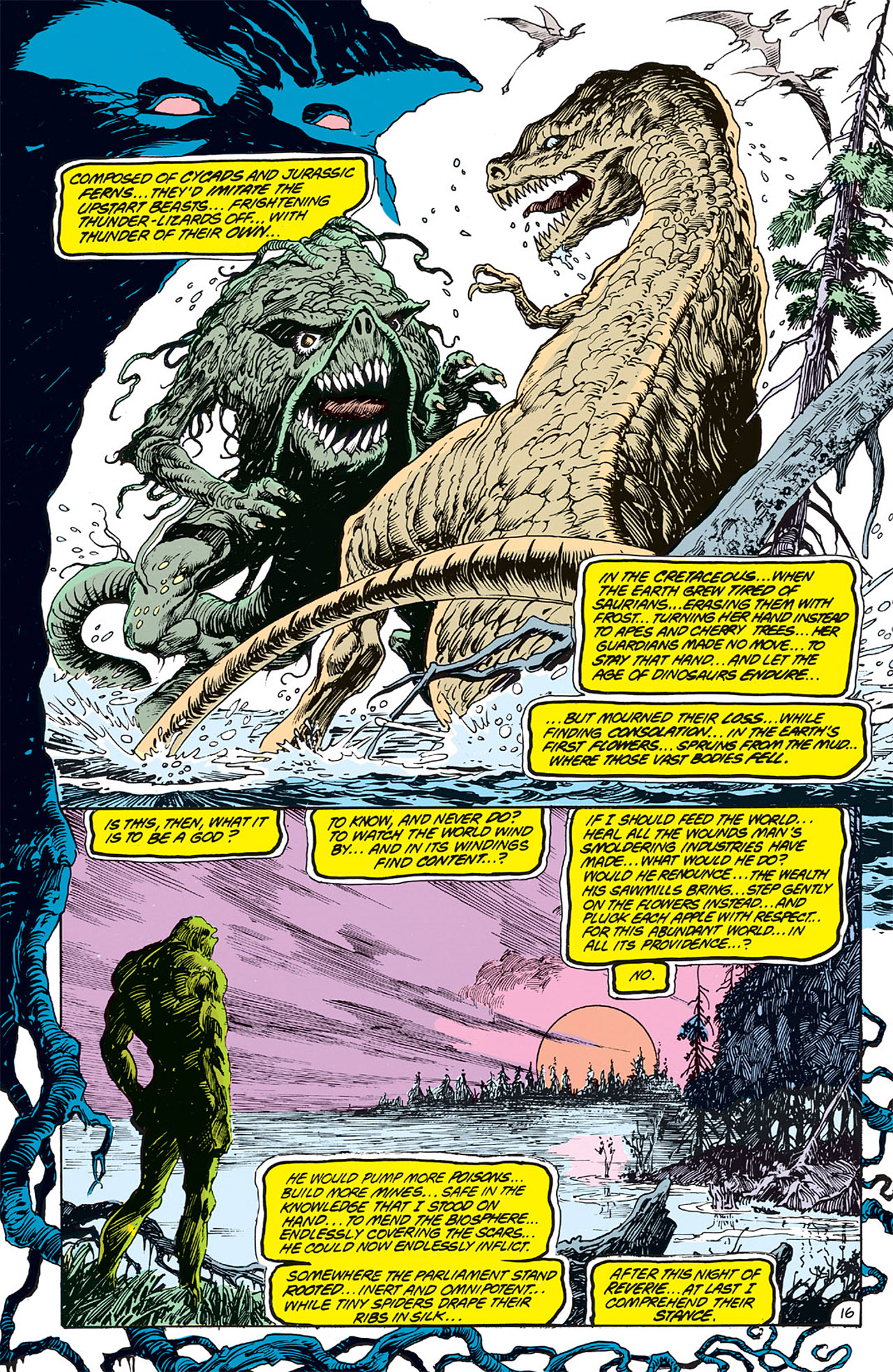 Swamp Thing (1982) Issue #64 #72 - English 17