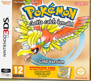 Pokemon Gold Version 3DS