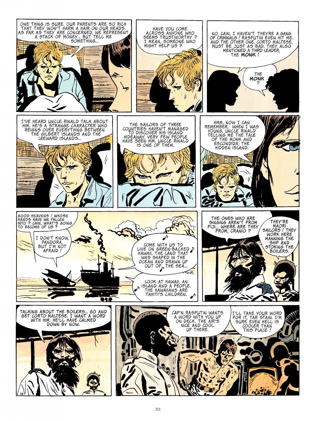 Corto Maltese TPB 2 (Part 3) Page 1