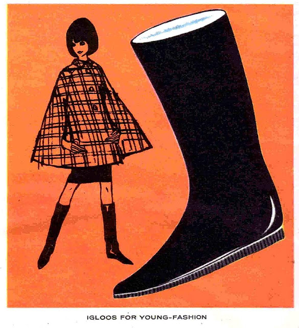 Igloos boots for girls 1964