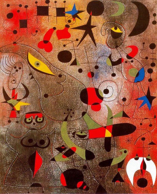 Despertando o Amanhecer - Miró, Joan e suas principais pinturas