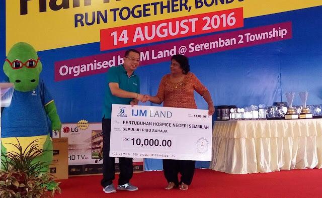Pertubuhan Hospice Negeri Sembilan, IJM Land Half Marathon 2016,