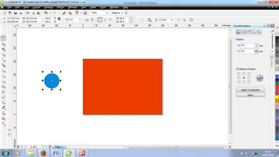 Membuat Abstrack Oval di Corel Draw