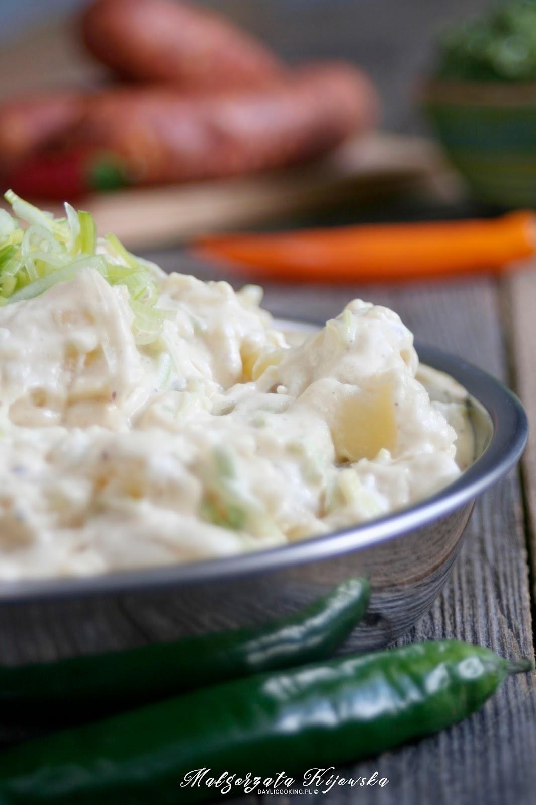 na grilla, kolacja, ziemniaki, daylicooking, Małgorzata Kijowska