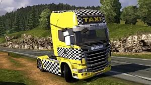 Scania Taxi skin by m.kabadayı