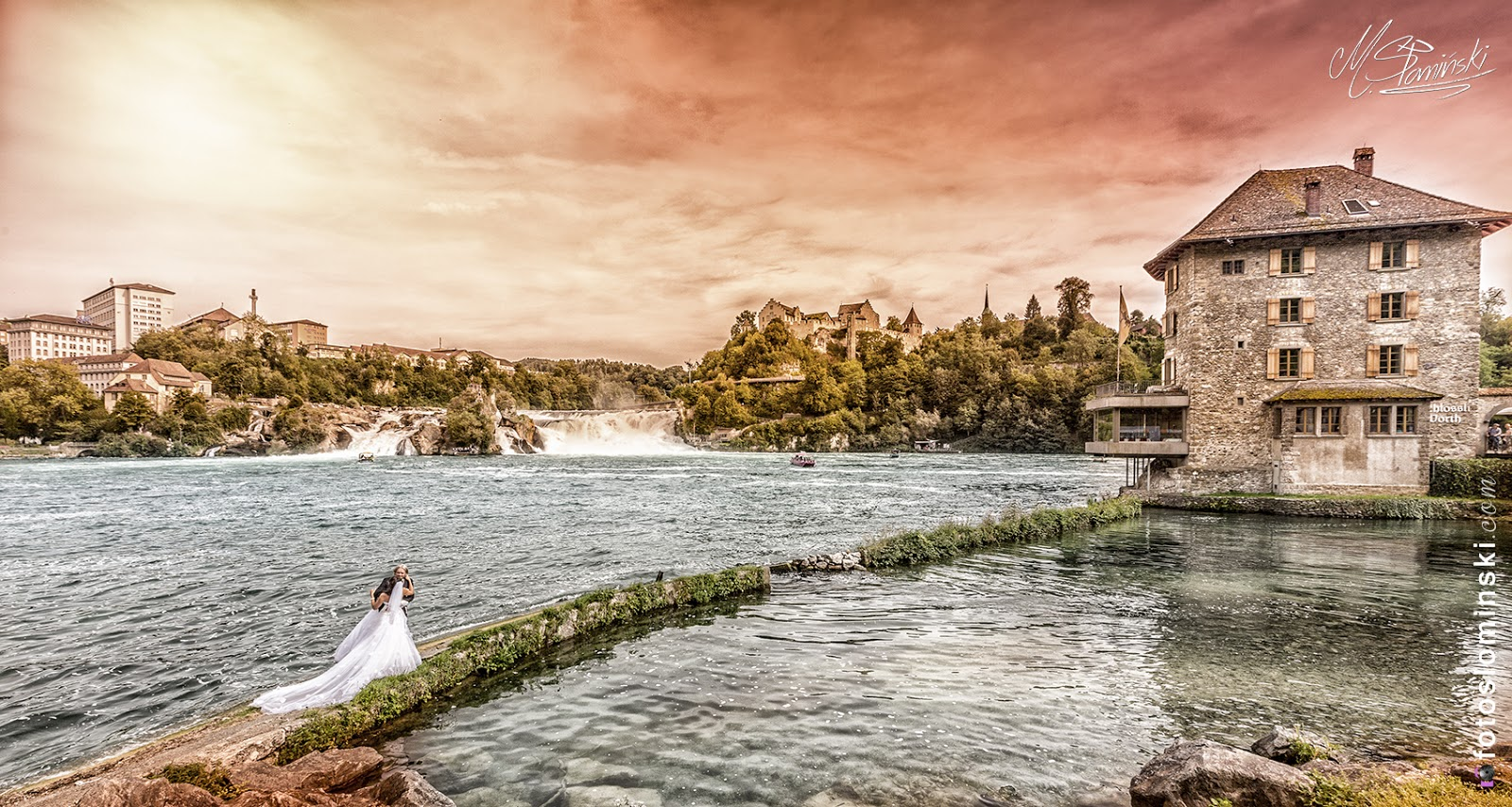 #ZdjęciaSłomińskiego and Amazing #Rheinfall #schaffhausen #Neuhausen in #Swiss #Switzerland Back this year.