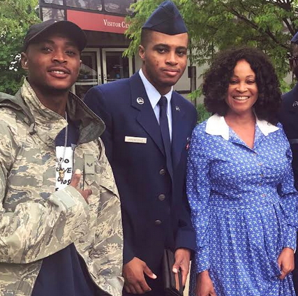 bukky wright son us airforce