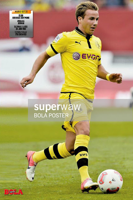 Mario Gotze Borussia Dortmund 2012