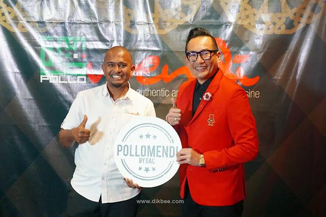 Pollo Mendi Perkenal Dato AC Mizal Sebagai Rakan Kongsi
