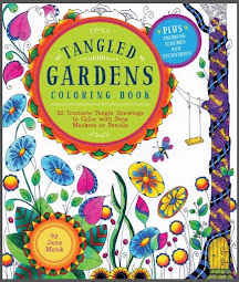 Tangled Gardens Coloring In Book