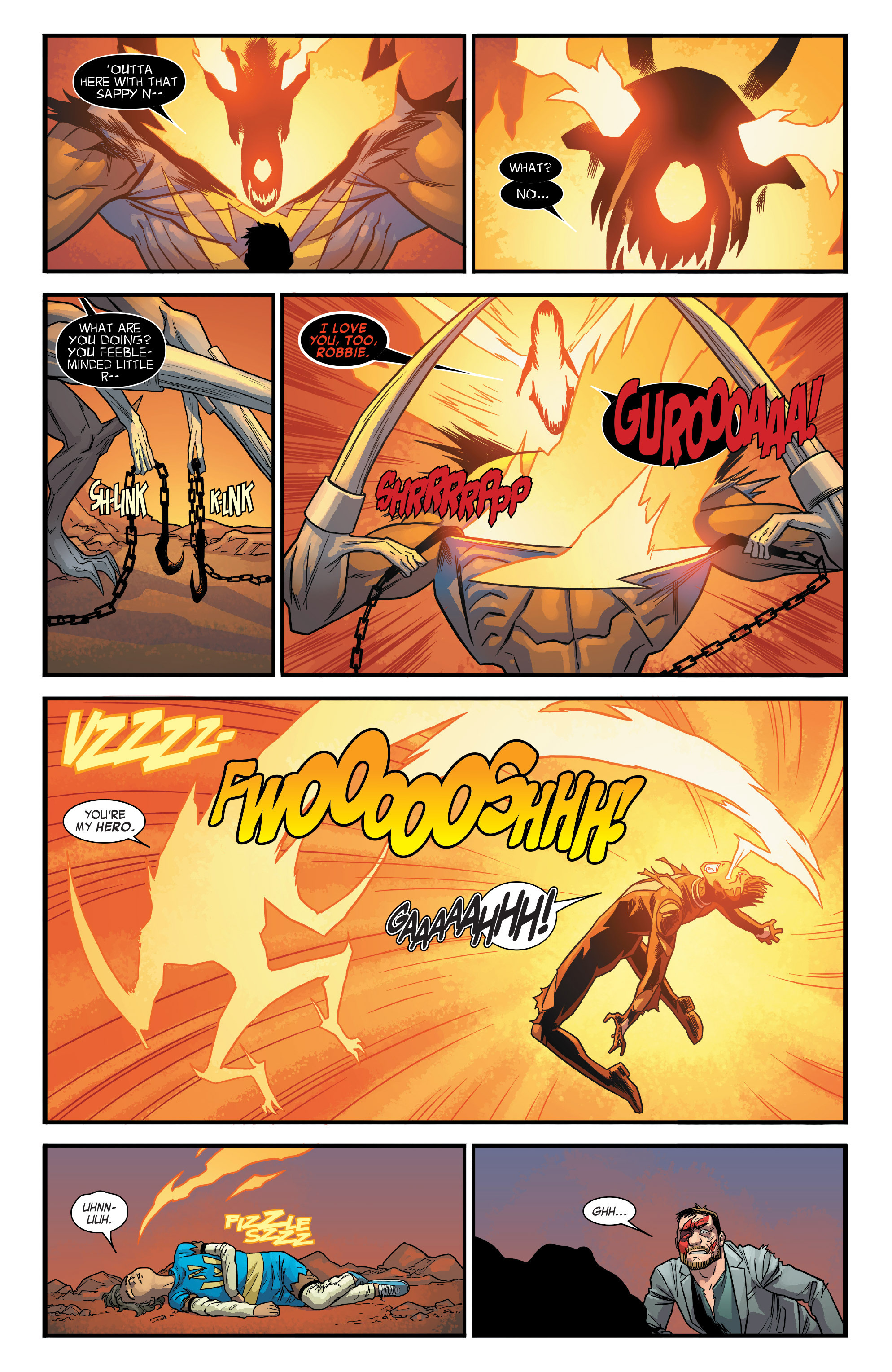 Read online All-New Ghost Rider comic -  Issue #12 - 19