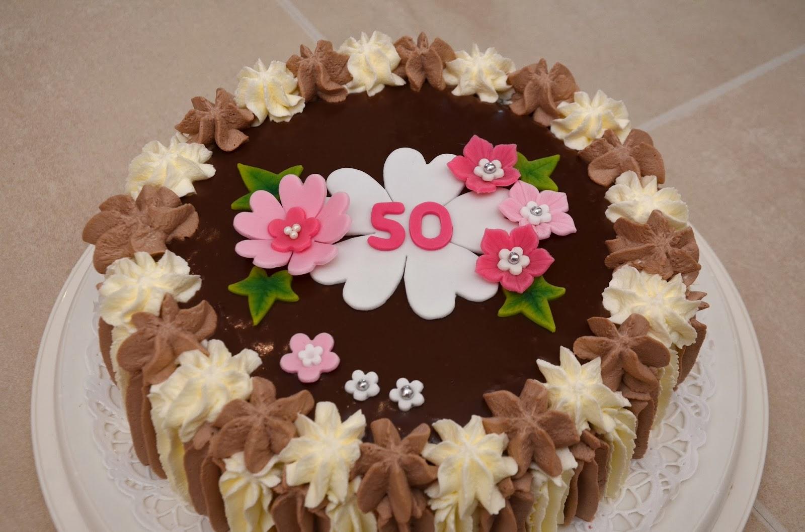 tårta 50 år Tårtmakartösen: Kerstins 50 års tårta tårta 50 år