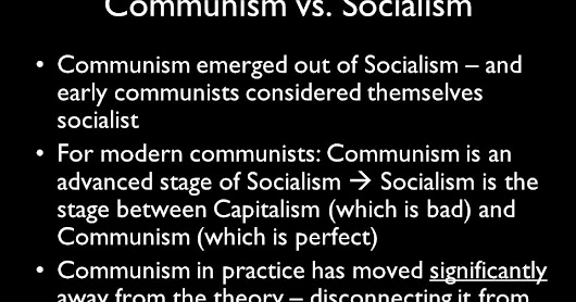 perfect communism There won't be much left to do once the investment robots perfect capitalism  choice 1 is more or less actually existing communism 11 choice 3 is more or less capitalism.