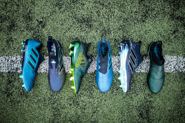 big sale 65582 7818a Limited Edition Adidas 2017-18 Thunder Storm Boots Pack Released