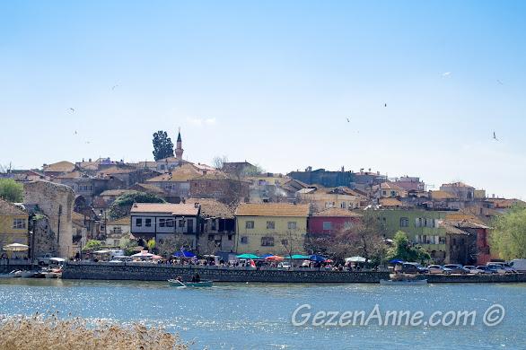 adeta bir kuş cenneti olan Gölyazı, Bursa