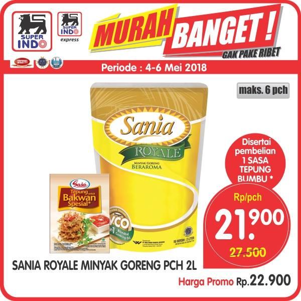 PROMO! Sania Royale Minyak Goreng