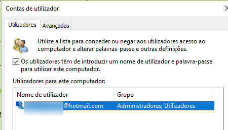 tirar senha do Windows 10