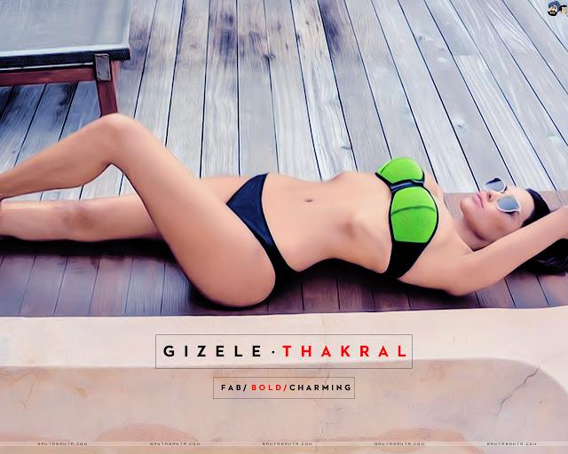 Gizele Thakral Bikini Wallpapers