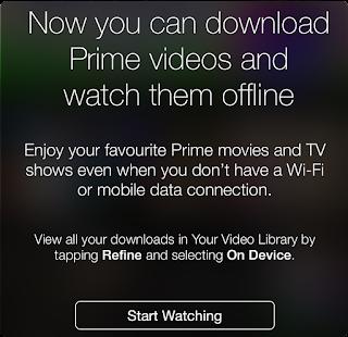 Amazon prime video app chromecast