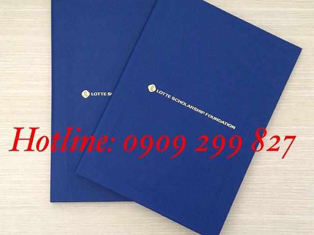 Mẫu bìa đựng tốt nghiệp chất lượng và sang trọng nhất - 0909 299 827 11