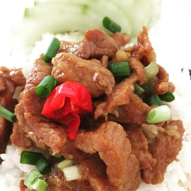 sweet kwsine, porc au caramel, nuoc mam, cuisine vietnamienne, miss tâm,