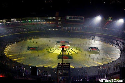 ICC World Cup 2011 opening ceremony pic
