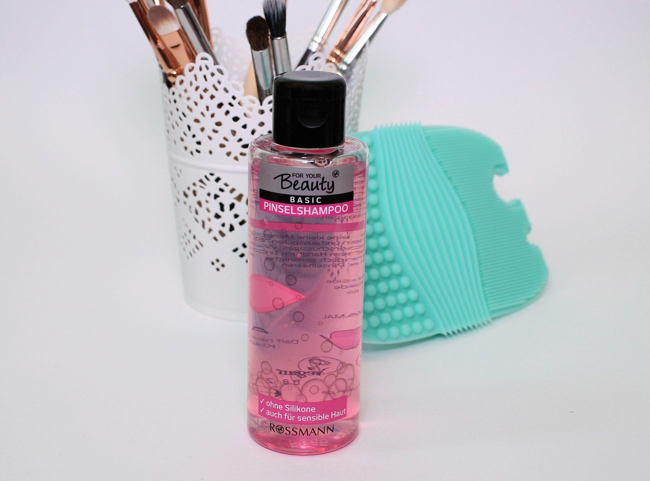 Pinsel Waschen Reinigungspad Shampoo Von Rossmann Zaphiraw I