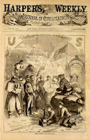 Harper's Weekly Civil War Santa Claus