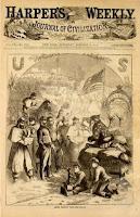 Harper's Weekly Civil War Santa Claus