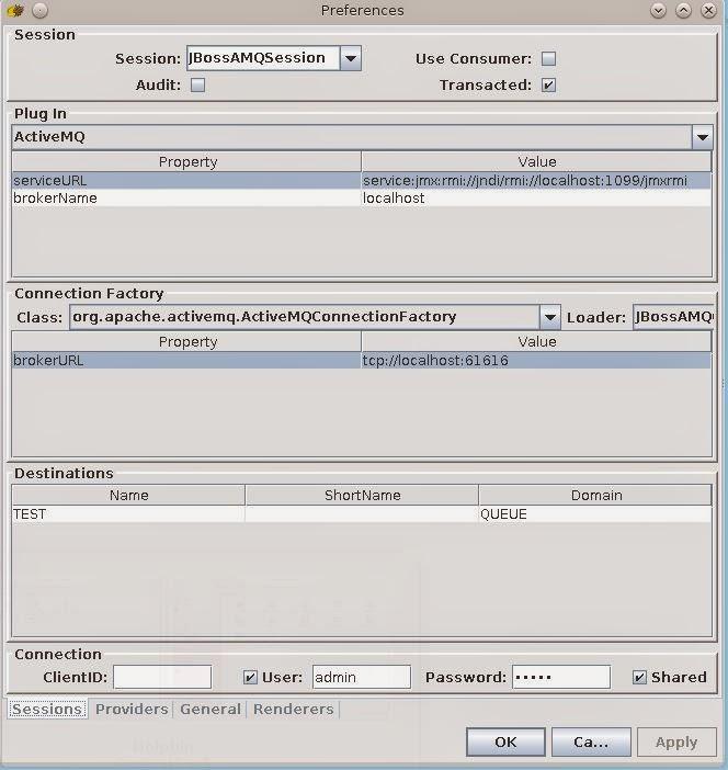The Open Universe: Using HermesJMS with JBoss A-MQ