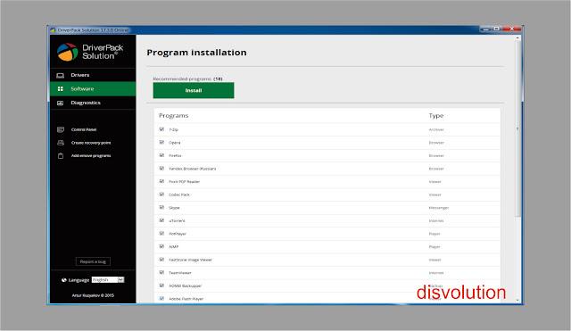 Driver Pack Solution 17.7.4 terbaru 2017 Buat Kalian Yang suka Software Baru