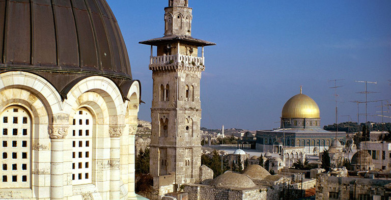 Holy Jerusalem city attraction