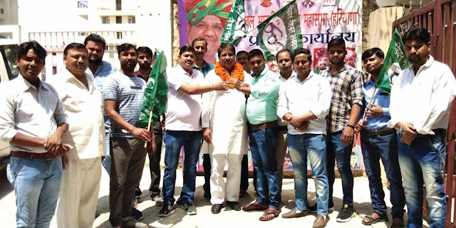 Faridabad Kshatriya leader Umesh Bhati appointed inel media panelist