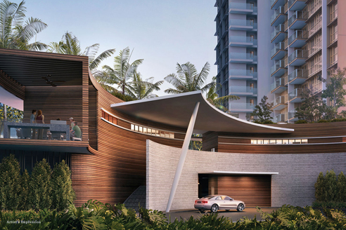 Seaside Residences Drop Off