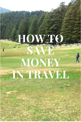 Tips to save money in travel