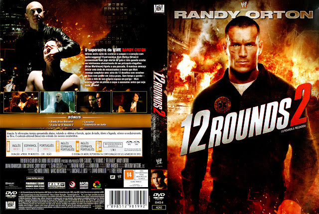 Capa DVD 12 ROUNDS 2