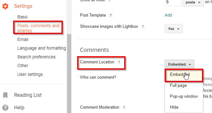 TECHLASS: How to Fix Comment Box Not Showing in Blogger