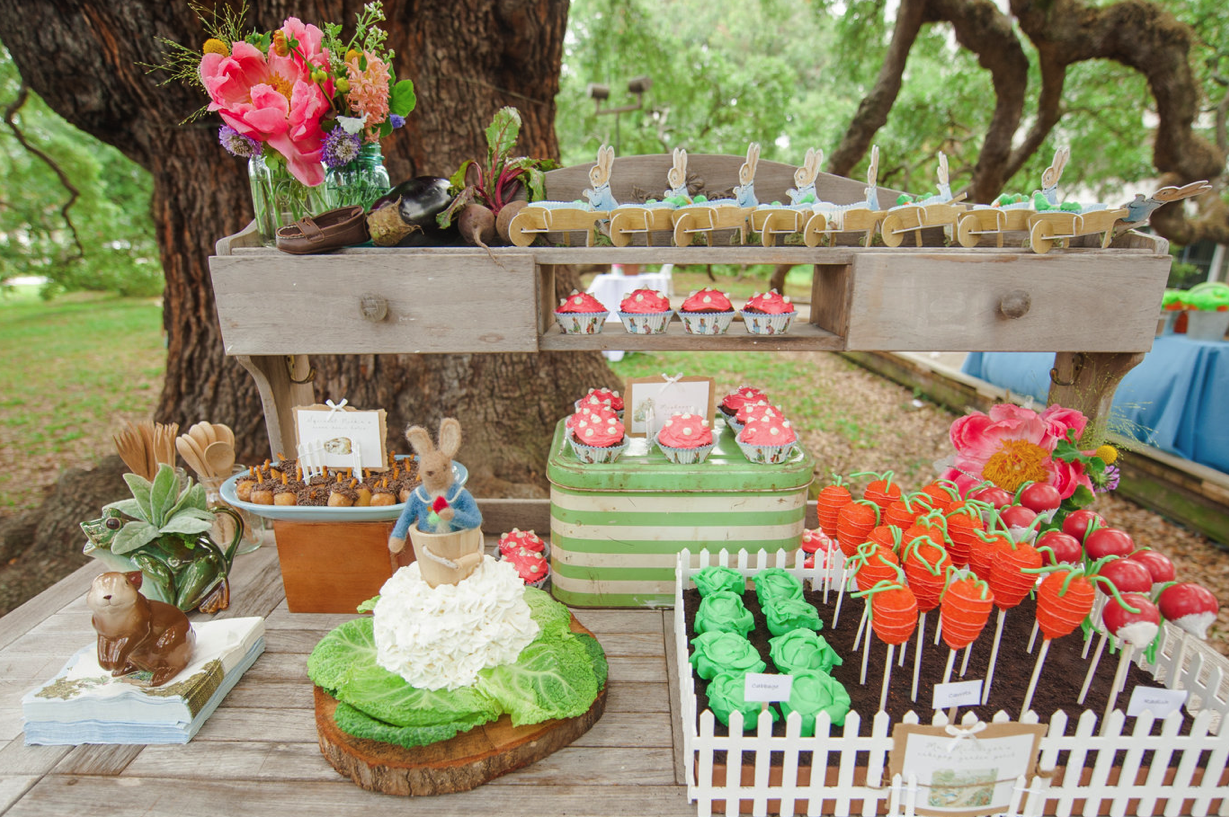 Holly Brooke Jones Peter Rabbit Birthday Party