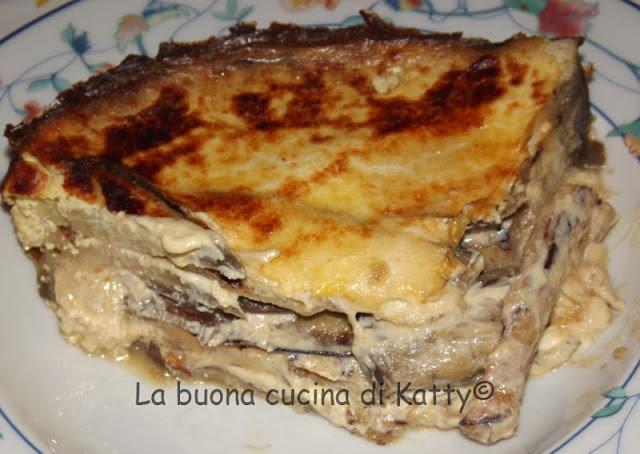 La Buona Cucina Di Katty Parmigiana Di Melanzane In Bianco