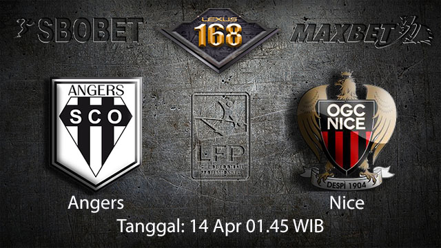 BOLA88 - PREDIKSI TARUHAN BOLA ANGERS VS NICE 14 APRIL 2018 ( FRENCH LIGUE 1 )