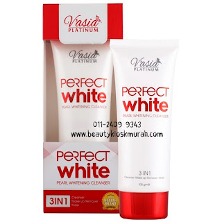 Perfect White Pearl Whitening Cleanser V'asia