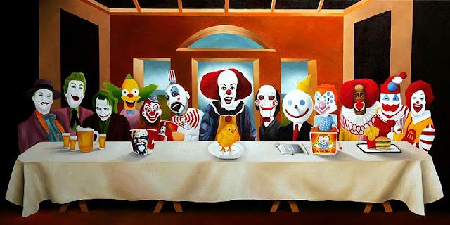 The Clowns Last Supper by Dark Vomit