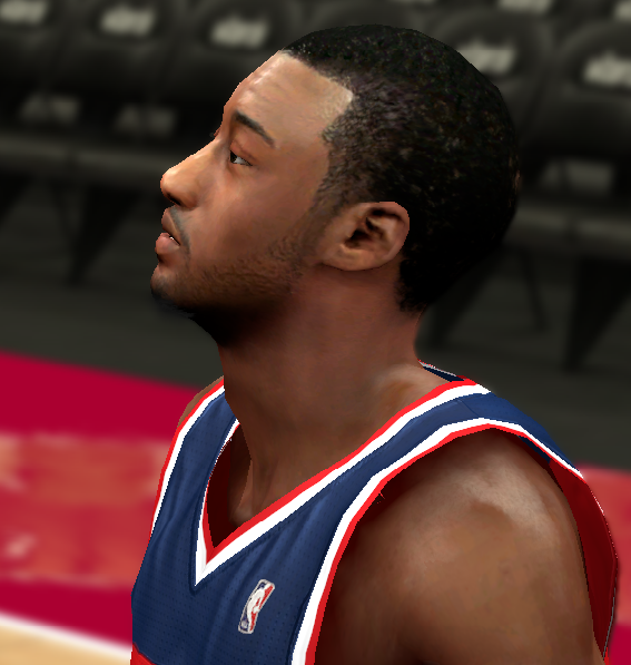 J. Wall Realistic NBA2K Face
