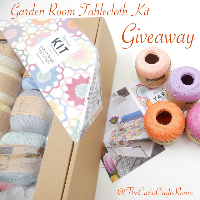 crochet kit tablecloth giveaway pattern and yarn thecuriocraftsroom