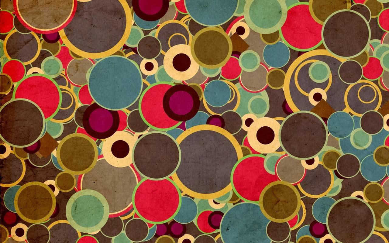 40 Imágenes Abstractas Para Descargar E Imprimir: Fondo De Pantalla Abstracto Circulos