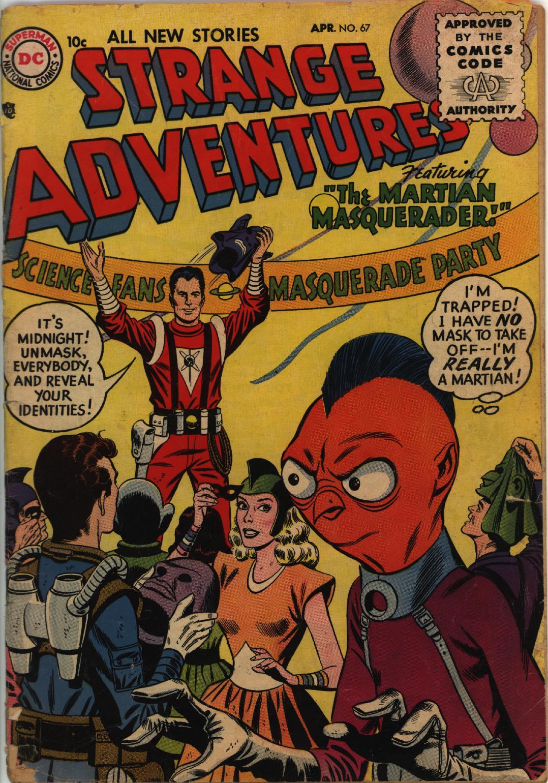 Strange Adventures (1950) issue 67 - Page 1