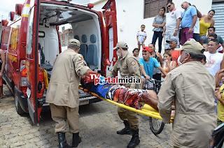 albergado é vítima de tentativa de homicidio na frente de sua casa em Guarabira-PB